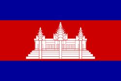 L'origine et la signification des drapeaux Drapeau-cambodge